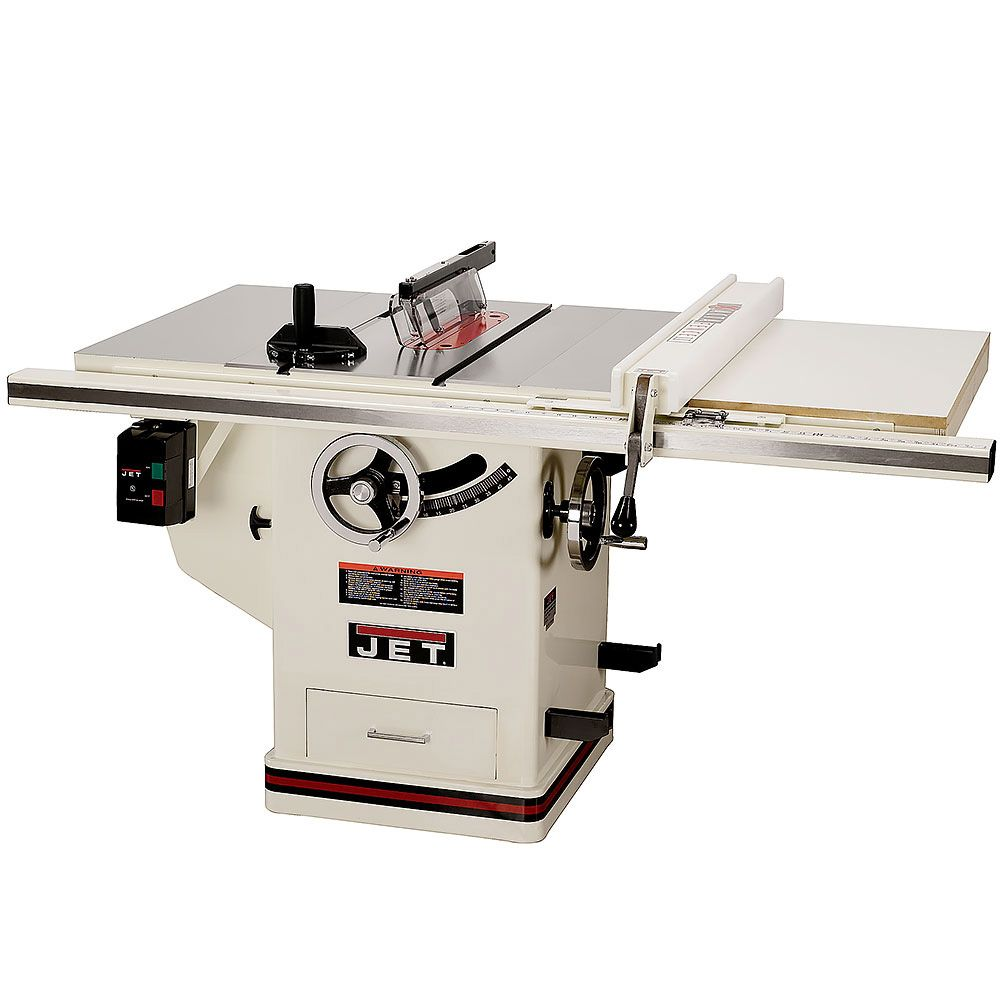 Jet Xacta Saw Deluxe Table Saw 3 Hp 30 Fence Jtas 10xl30 Dx Table Saw Best Circular Saw Used Woodworking Tools