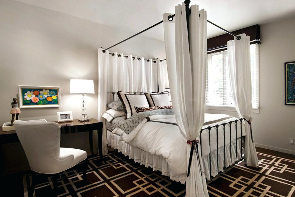 Canopy Beds With Drapes Canopy Bed Ideas Homemade Canopy Bed