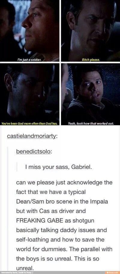 Gabe pooper scene