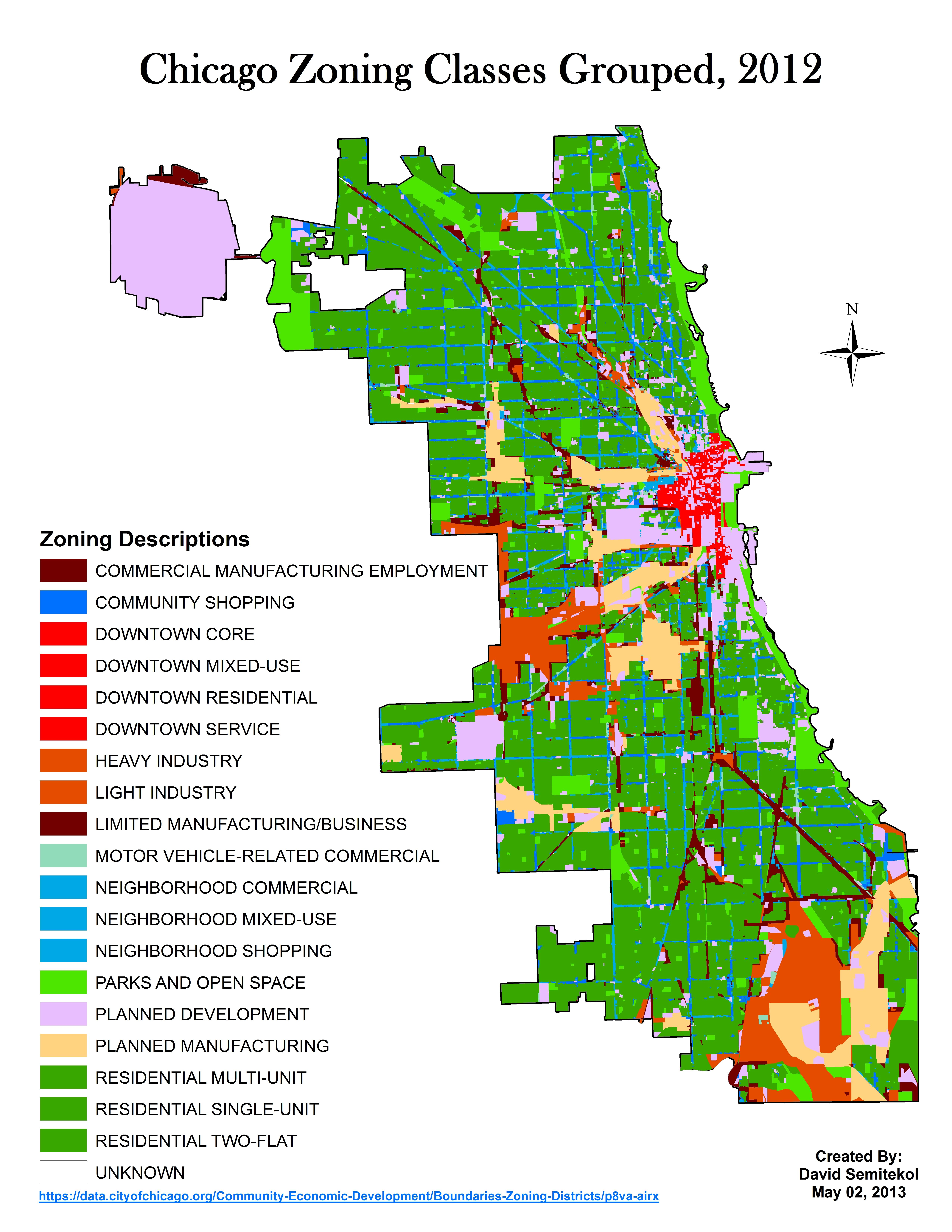 Zoning Map Chicago Chicago Zoning Map | Maps | Map