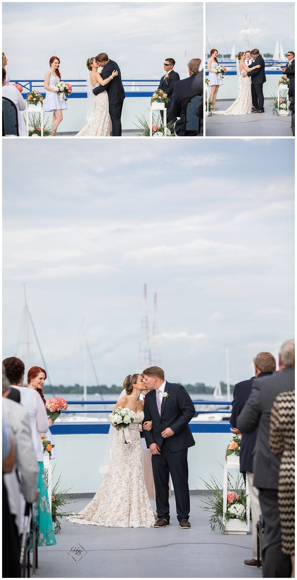 Annapolis waterfront hotel wedding hannah barlow