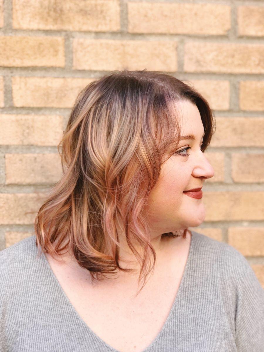 Rose Gold Hair Tint | Rose gold hair, Hair, Long hair styles