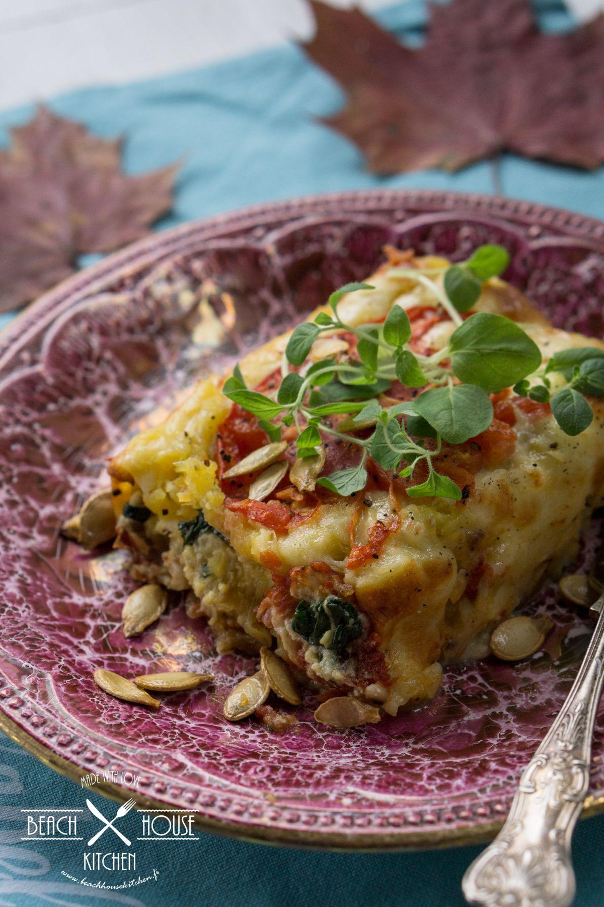 Beach house kitchen: Täyteläiset Kurpitsa-Cheddar Cannellonit