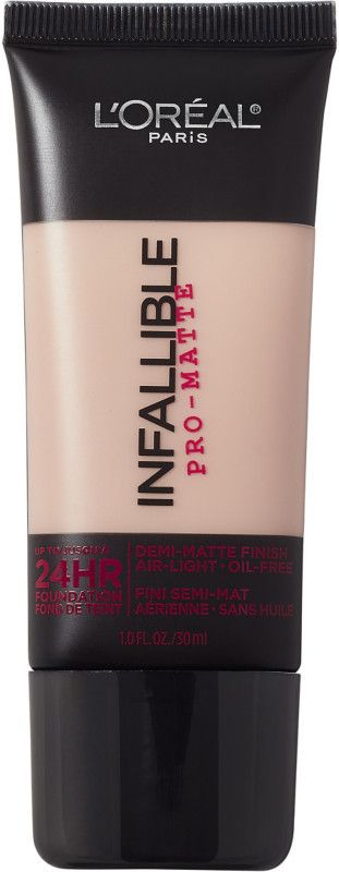 Pro Foundation Mixers By Nyx Professional Makeup: L'Oreal Infallible Pro-Matte 24HR Foundation