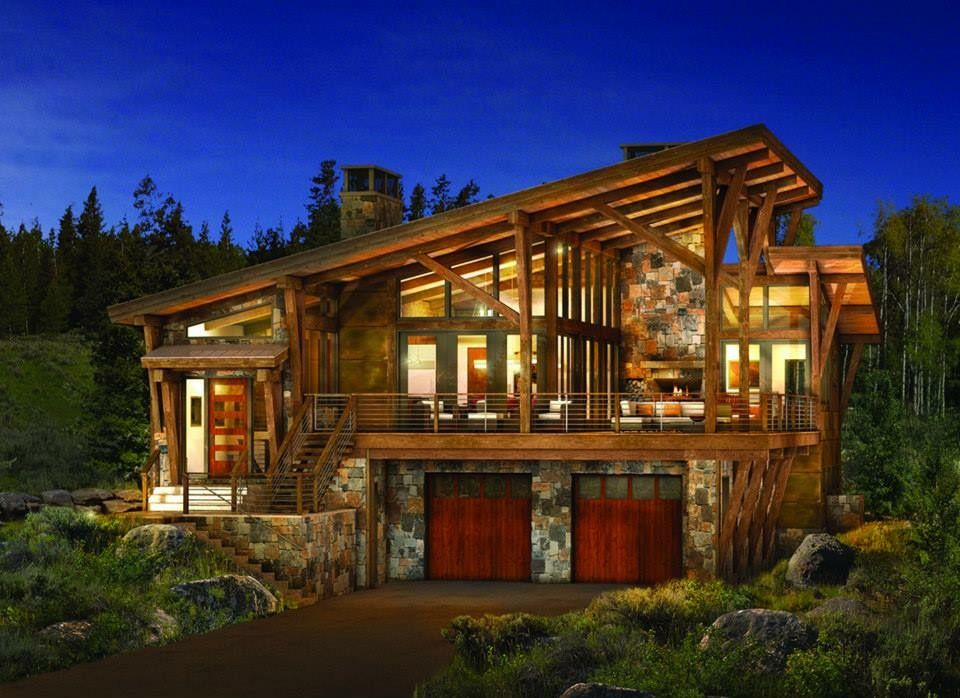 Pin by Elaine Green on houses | Timber house, Rustic home ...