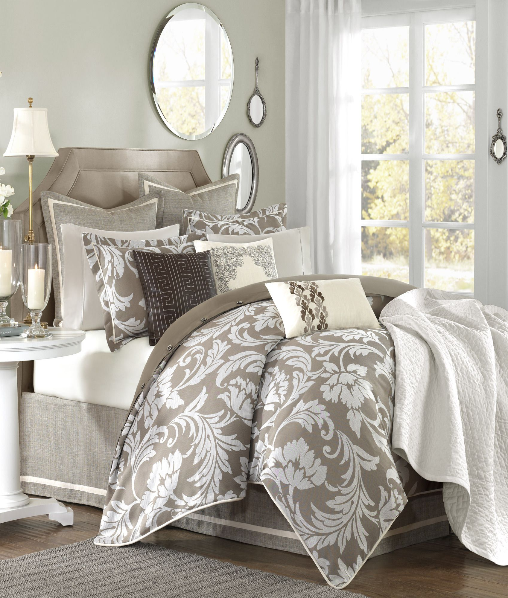 Hampton Hill Bellville Bedding Collection Bedroom Bed Home Decor Bedroom Decor