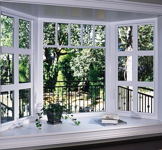 Bay Window Decoration: Inside View Of Milgard Tuscany Bay Windows In 2019