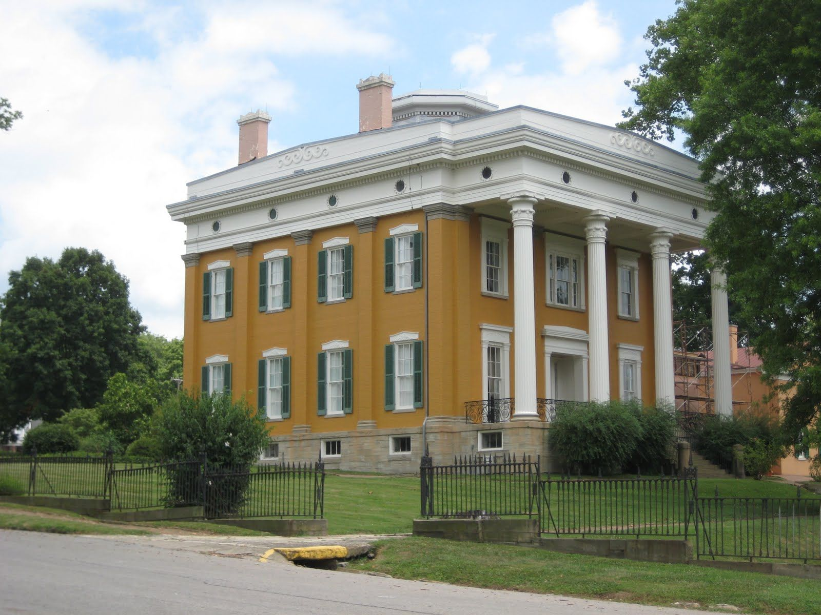 the lanier mansion is the 1844 greek revival home of james f d rh pinterest com