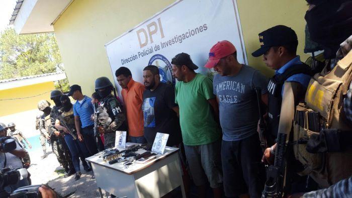 Varios detenidos en operación Candado en La Ceiba
