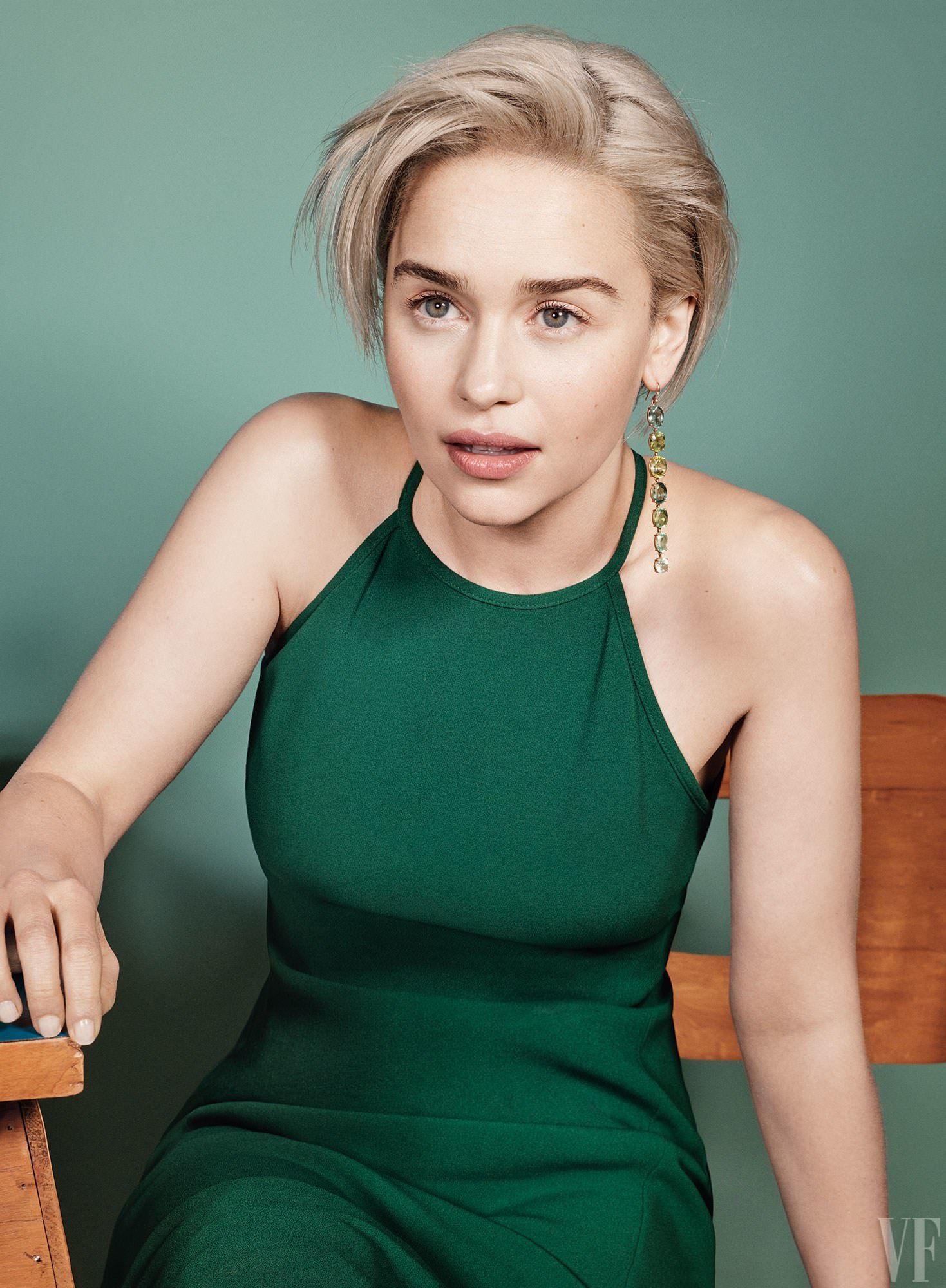 Emilia Clarke Full HD Wallpapers | Emilia clarke hair ...