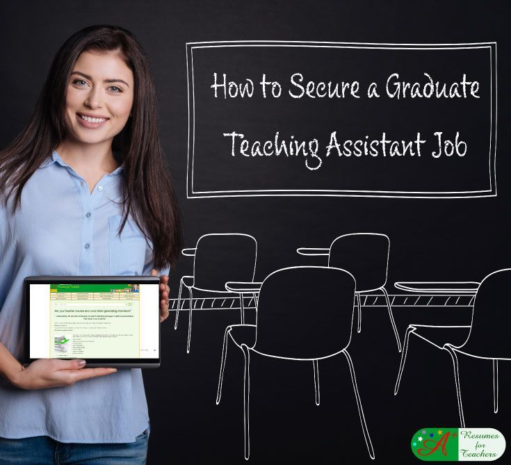 How to get a graduate teaching assistant job to start your
