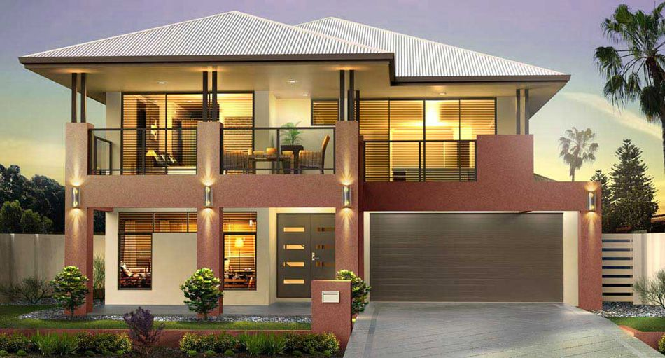 Great living home designs san remo series 1 upstairs for Houses with upstairs living