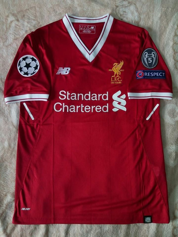 Liverpool NB Fan Cheer Authentic Sport Home Football Shirt FIFA ...