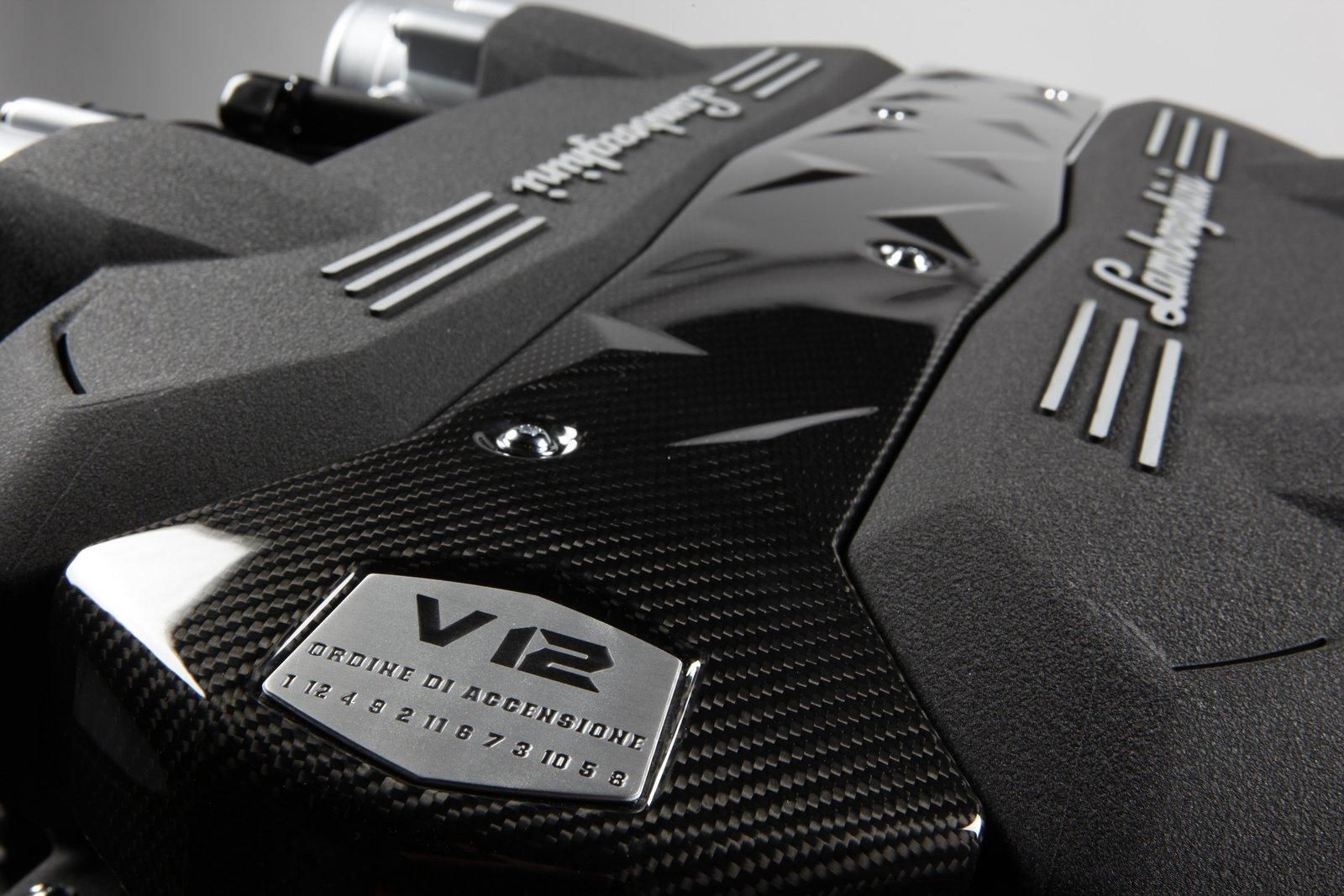 Lamborghini Aventador Engine V12