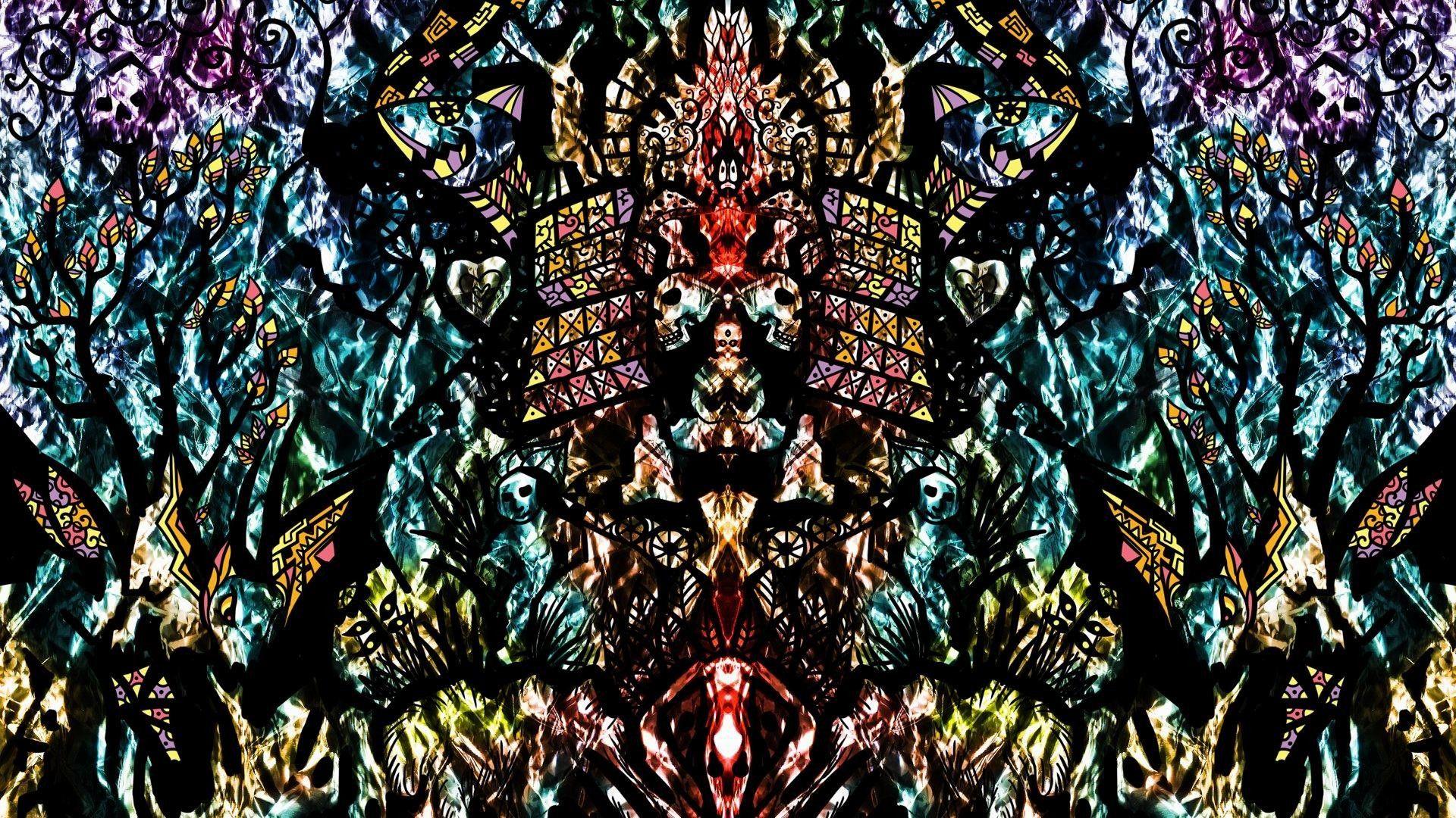 1920x1080 psychedelic wallpapers Hippie wallpaper