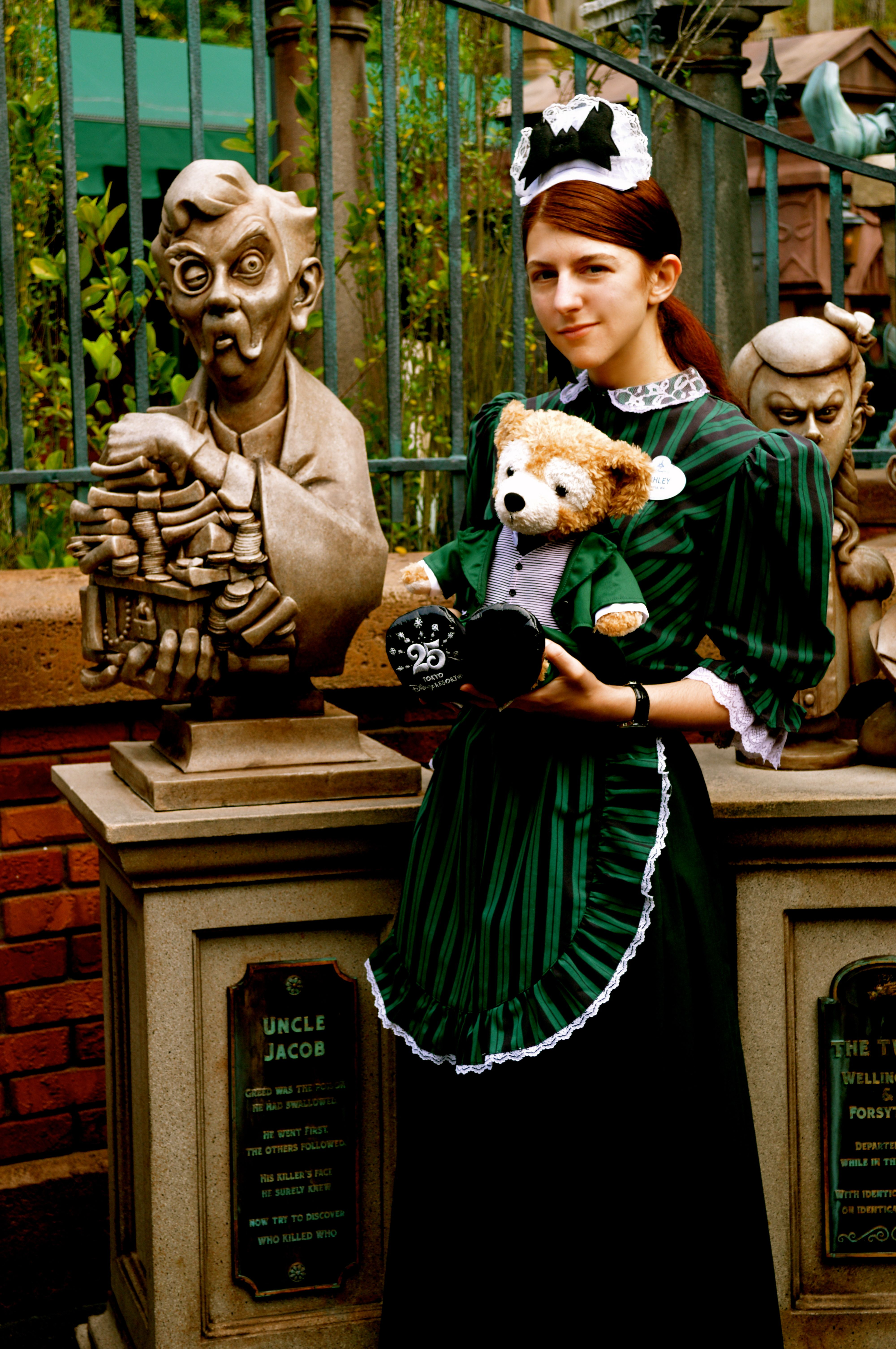 Disney Haunted Mansion Maid Costume