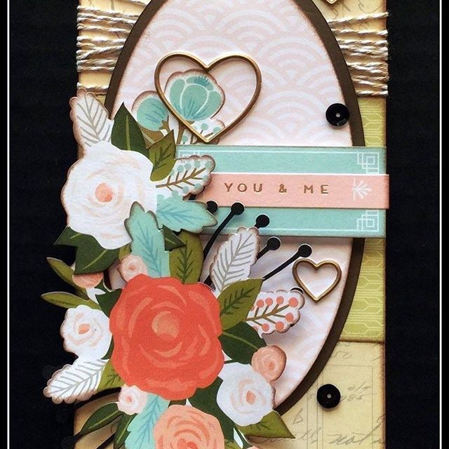 Card Making Ideas Close To My Heart Part - 29: You U0026 Me Handmade Card: Close To My Heart Hello Lovely #createbyjennifer  #tags