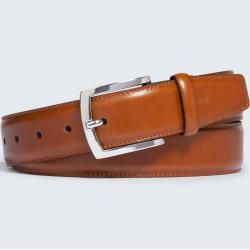 Photo of Leather belt in cognac windsorwindsor