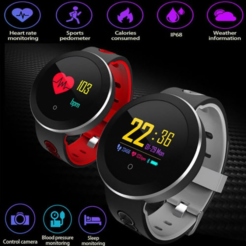USB Charging Smart Watch Men Health Management Smart