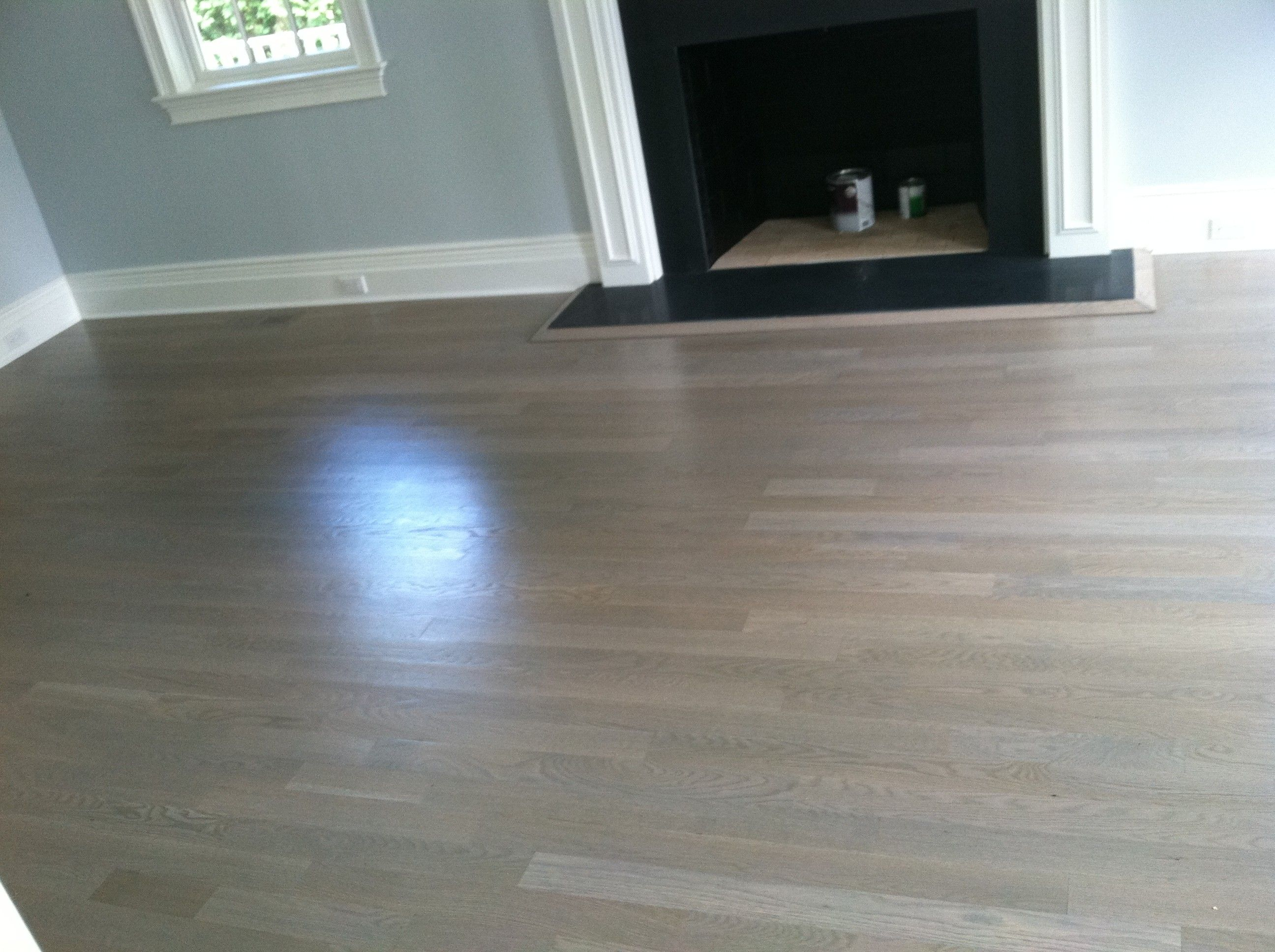 Staining Hardwood Floors Gray