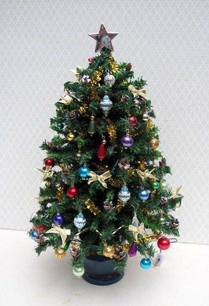 miniature christmas tree christmas dollhouse pinterest miniature christmas christmas tree and miniatures - Miniature Christmas Tree