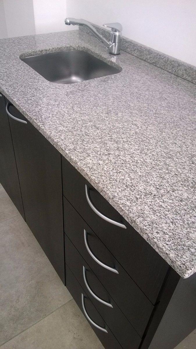 Mesada de granito x 62 color gris mara for Color gris granito