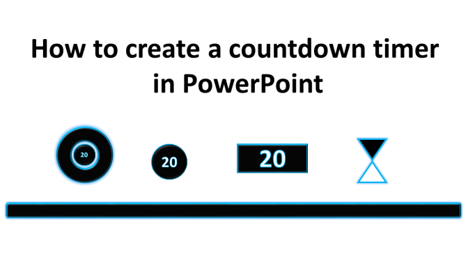 how to create a countdown timer in powerpoint technology in the