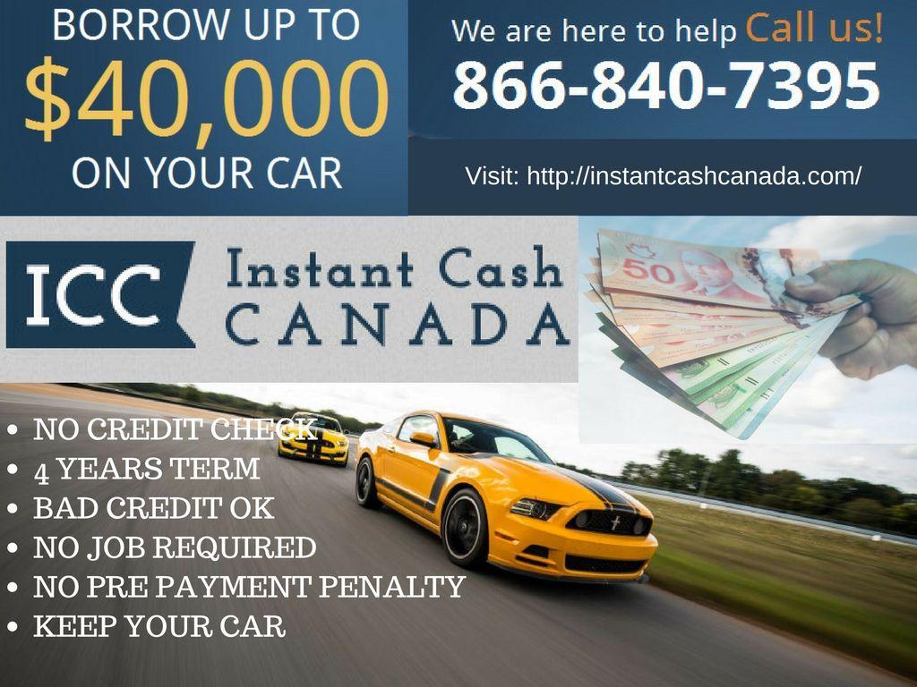 Need emergency cash? Instant Cash Canada lets you borrow