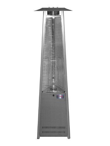 Wonderful Island Fire U0026 Patio TF041SSH LP Tower Of Fire Propane Stainless Steel Patio  Heater