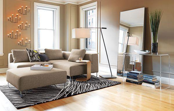 Space-Saving Design Ideas for Small Living Rooms | Small ...