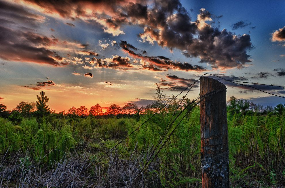 texas countryside sunsets in 2019