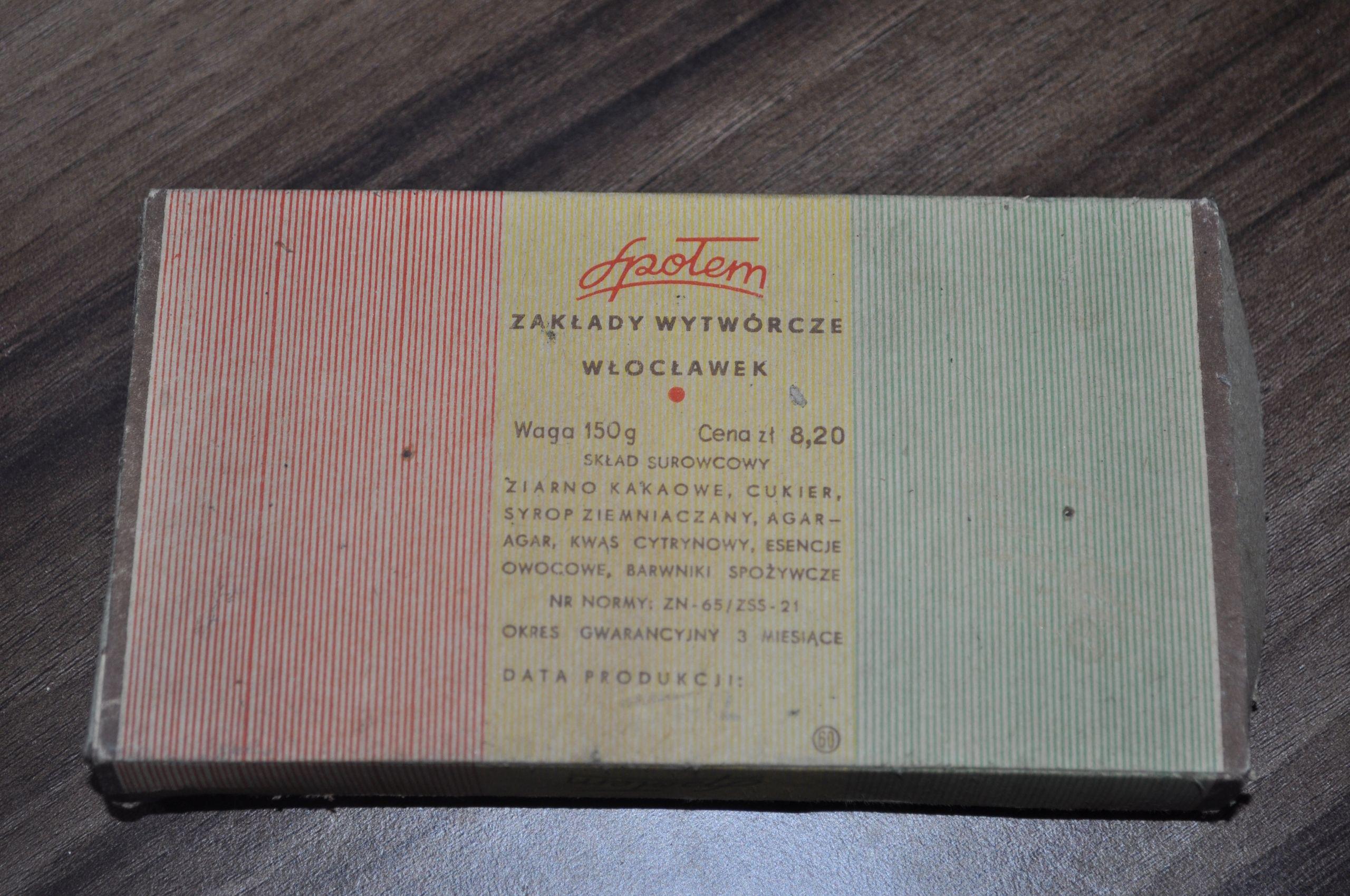 Opakowanie Prl Galaretka W Czekoladzie Spolem 7580691443 Oficjalne Archiwum Allegro Book Cover Retro Vintage Retro