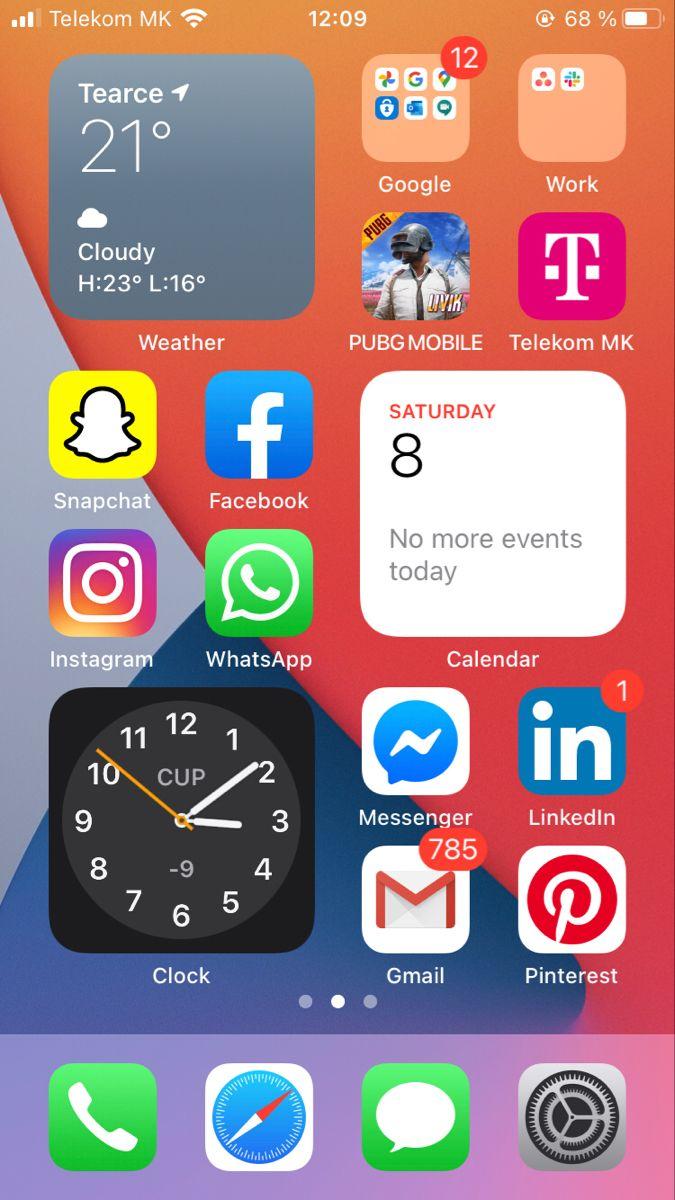 Need To Add My Designs Too Ios Apple Ios14 Beta In 2020 Homescreen Iphone Iphone Organization Iphone App Layout