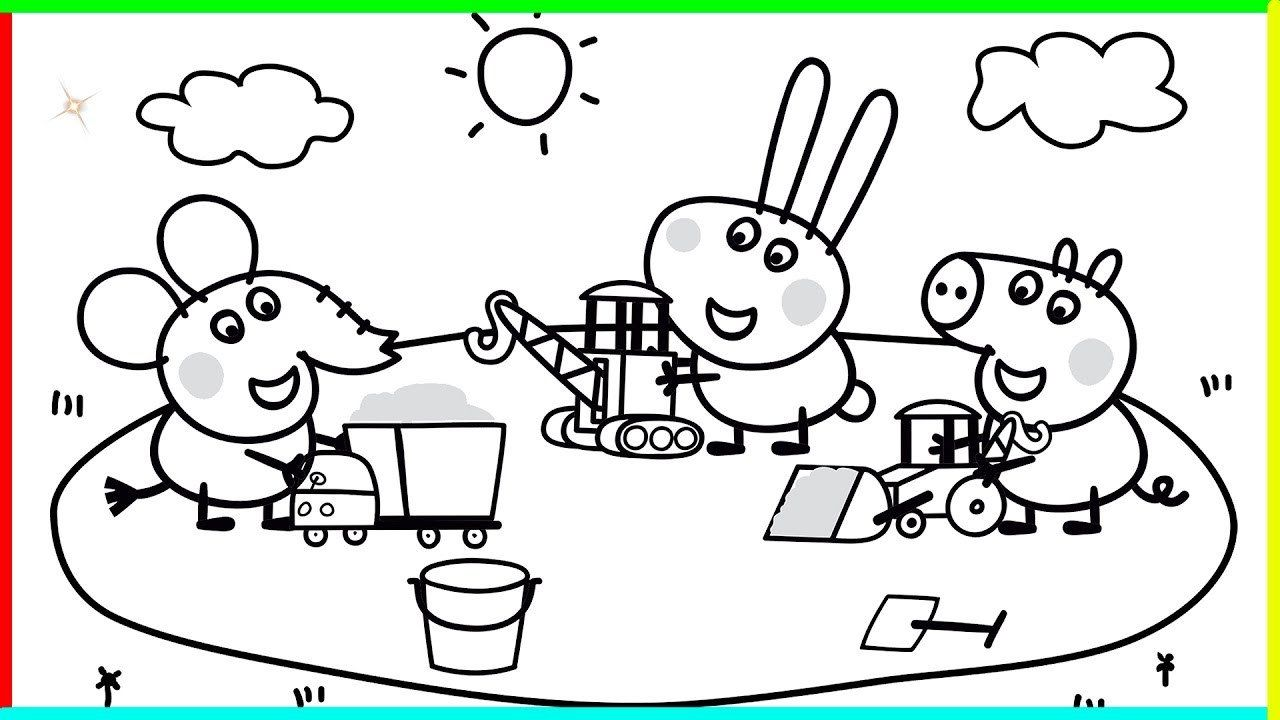 Peppa Pig Coloring Pages Inspirational Peppa Pig Coloring Pages Ice Cream Coloring Pages Peppa Pig Coloring Pages Peppa Pig Colouring Coloring Pages