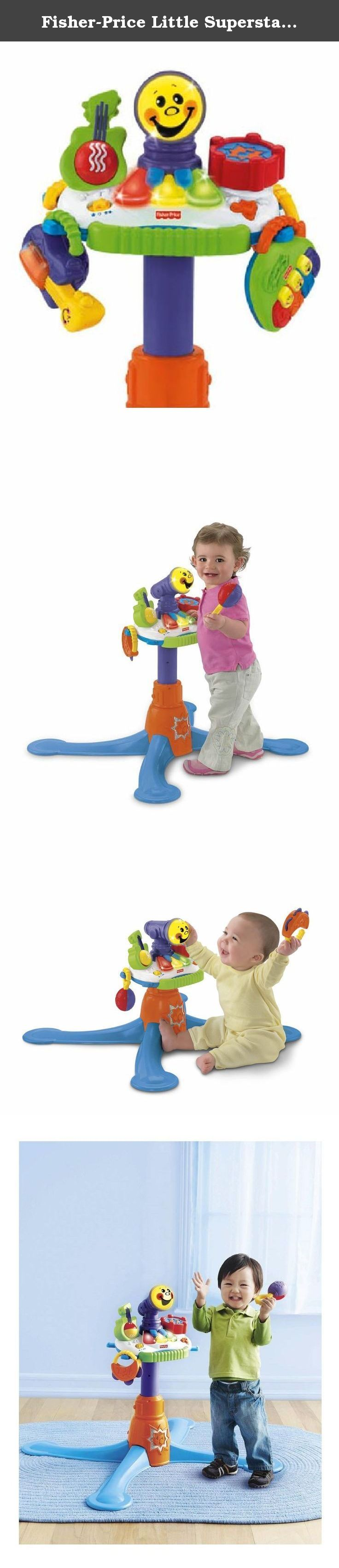 Fisher Price Little Superstar Jammin Band Musical Microphone The