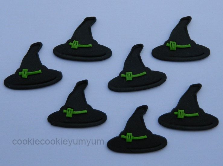 12 edible halloween witch hats witches friday 13th lucky