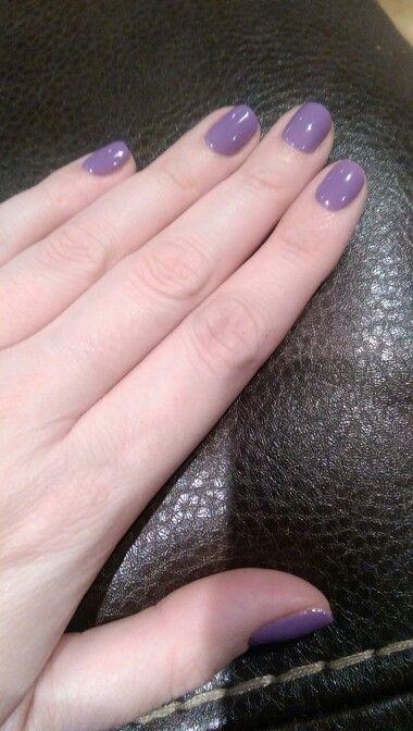 Purple nails ❤