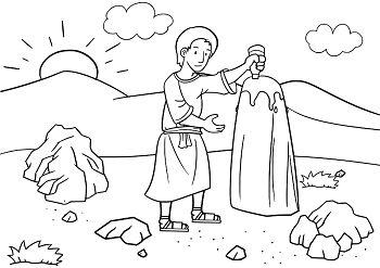 jacobs dreams coloring pages - photo#19