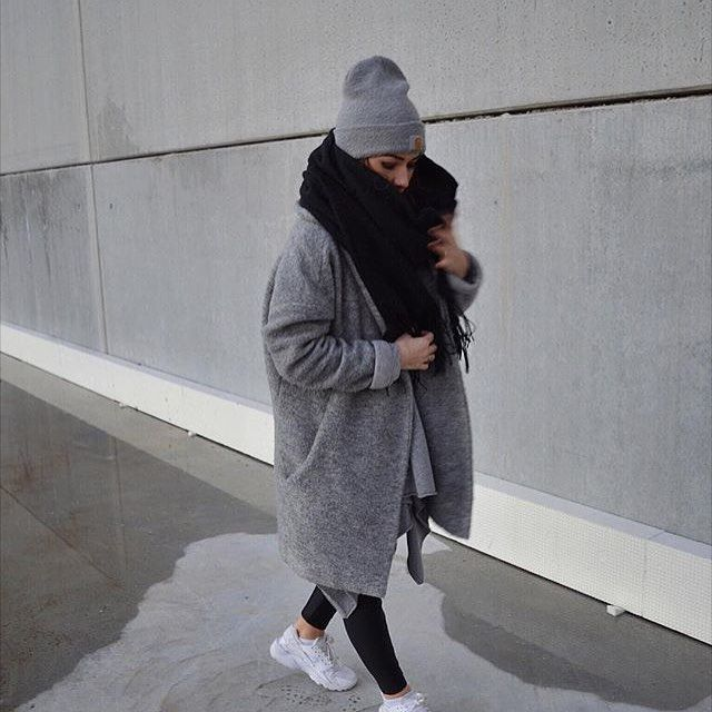 "All Things Grey... on Instagram: ""Warm #grey #greystyles #style #stylish #fashion #fashioninspo #fashiongoals #fleeky"" #winteroutfitscold"