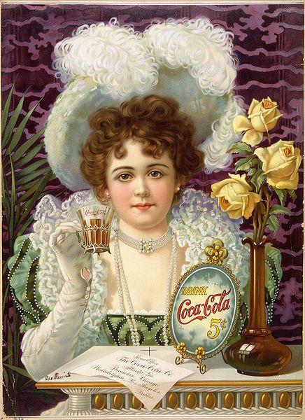1896 COCA COLA 5 CENTS