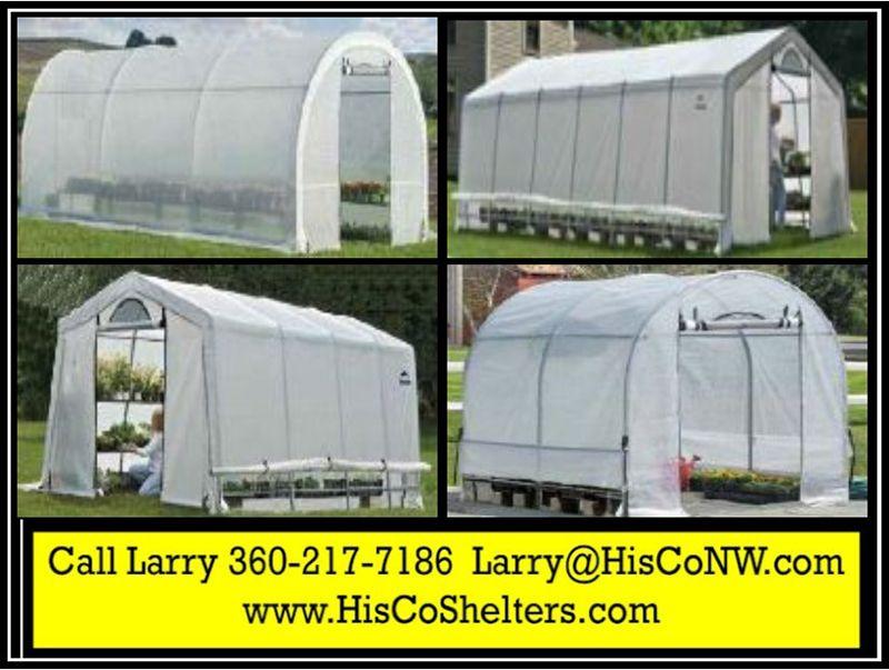 Shelter Logic Heavy Duty Greenhouse Growers Pro