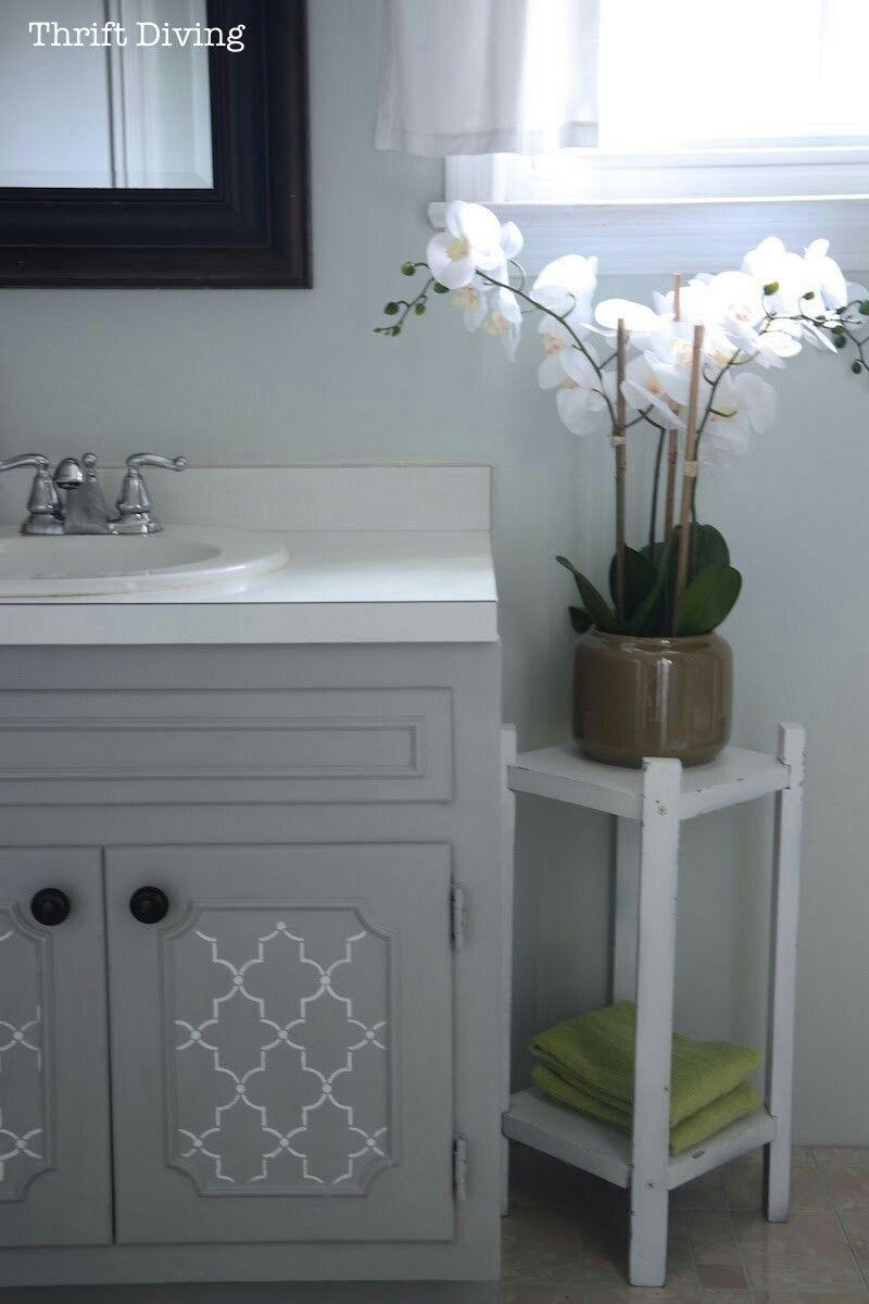 Painted vanity bathroom image by Jamie Whitley on bathroom ...