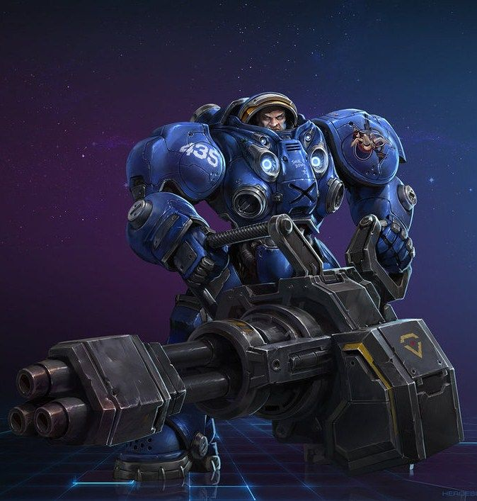 Raynor: Heroes of the Storm