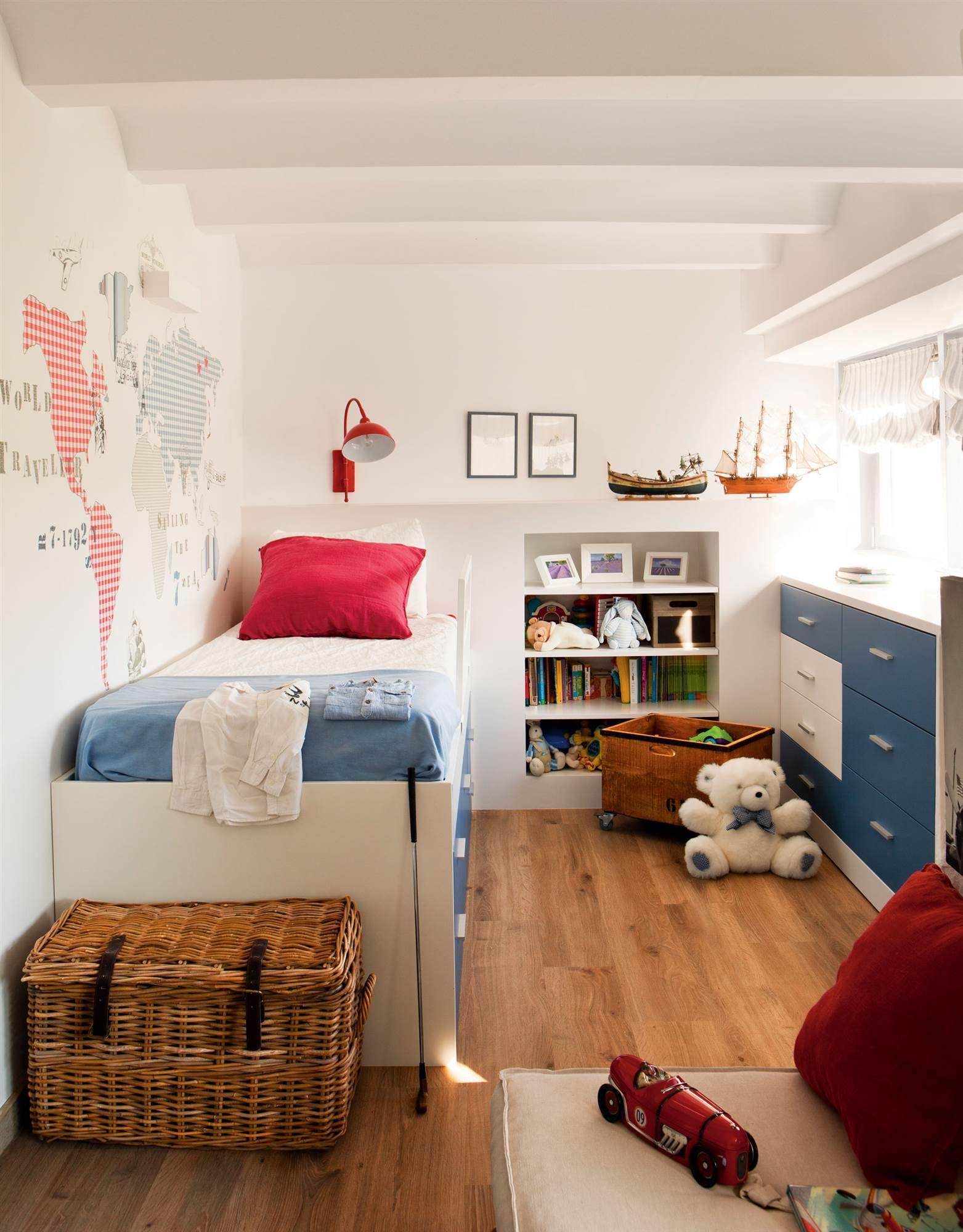 Un cuarto bicolor en 2019 habitaci n juvenil - Habitacion juvenil nino ...