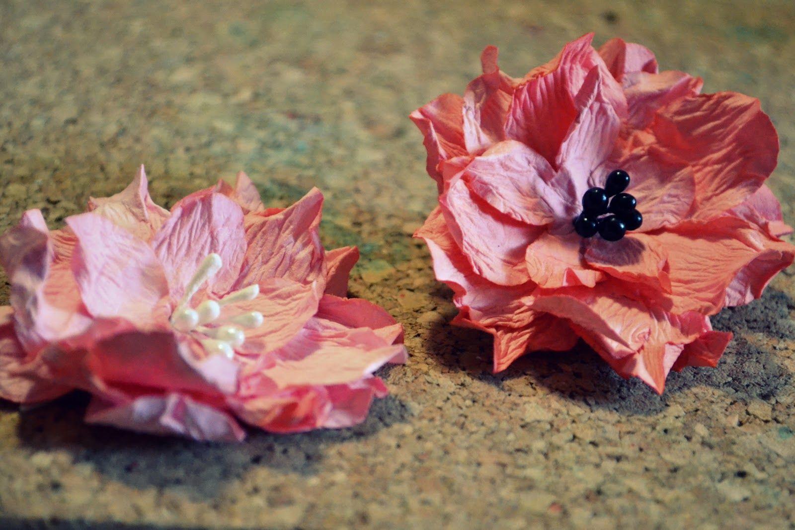 как сделать цветы из акварельной бумаги: 20 тыс ...
