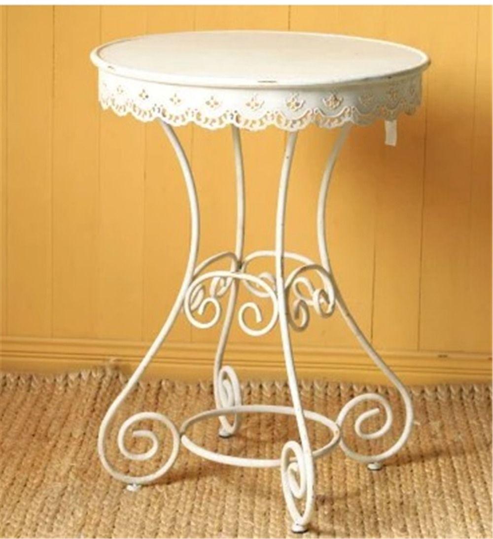 Estilo europeo rural antigua de hierro forjado mesa de for Muebles modernos estilo europeo