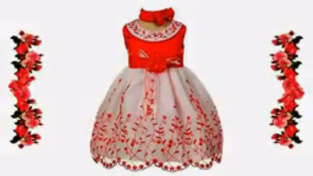 d99080ed0d53 Top 10 New Fancy Cotton Baby Frock Designs 2017 2018 for Kids Frock ...