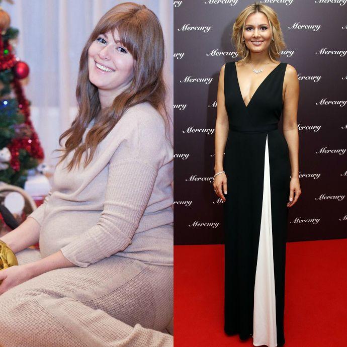 Российские звезды которые сильно похудели фото