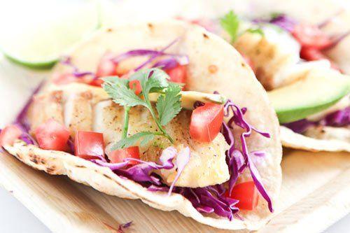 Fish Tacos #tacorecipes