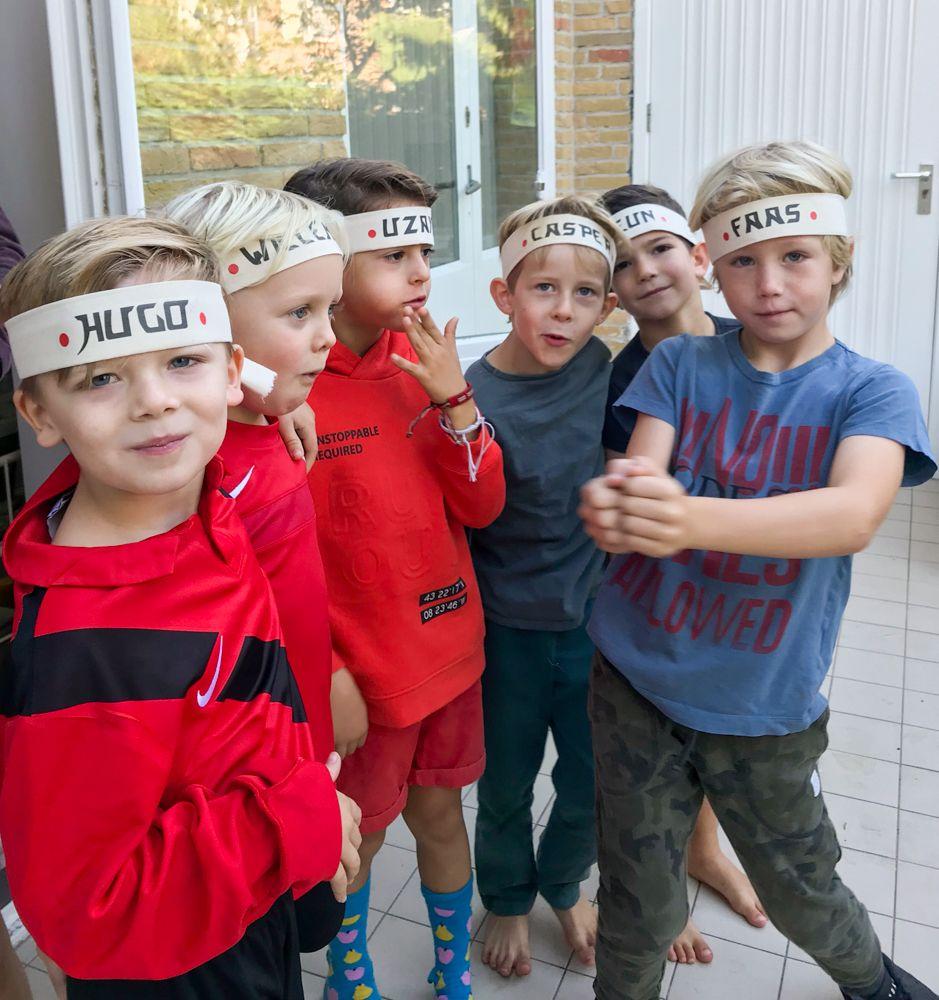 Photo of Una fiesta de Ninjago para el sexto cumpleaños de Casper. ¡Qué día tan divertido!